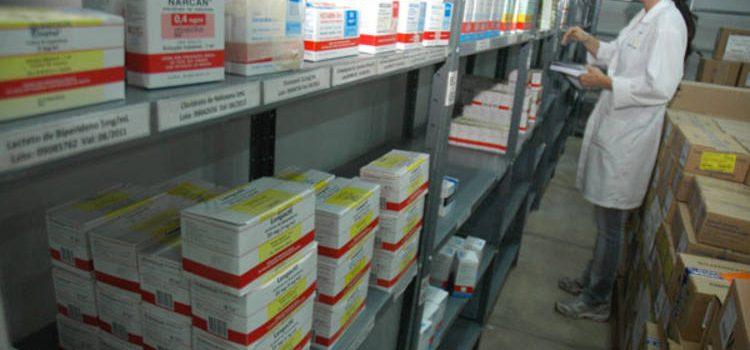 Saúde já tem 78% do estoque de medicamentos normalizados